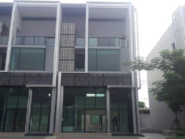 เช่าตึกแถว อาคารพาณิชย์บางนา แบริ่ง : ให้เช่าสำนักงาน 4 ชั้น คาสเคด-บางนา กม.5 Cascade Bangna อาคารเปล่า สภาพใหม่ หลังมุม จดบริษัทได้