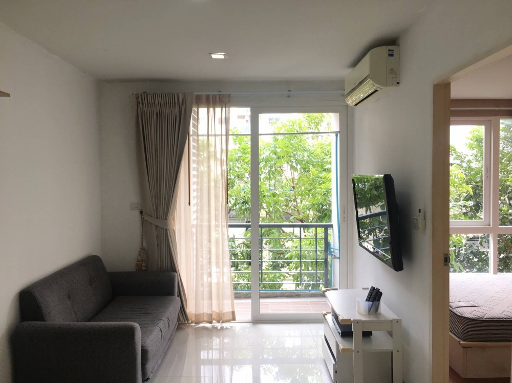 For RentCondoLadkrabang, Suwannaphum Airport : Condo for rent, Air Link Residence, size 36 sq m, special price, COVID range 7000 baht only!