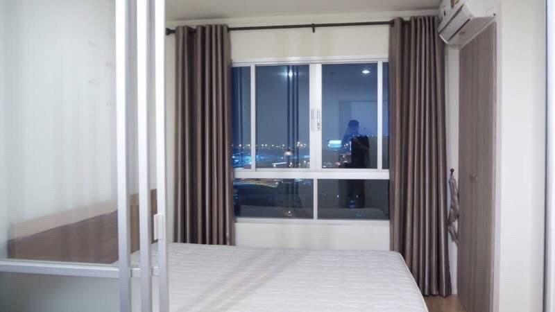 For RentCondoBangna, Lasalle, Bearing : Condo for rent, Lumpini, Mega City - Bangna, 14th floor, beautiful room, good view.
