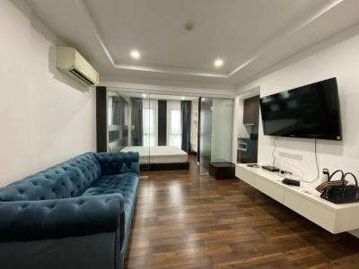 For RentCondoNawamin, Ramindra : Condo for rent Parc Exo Kaset-Nawamin Ready room, Building E / 8,000 B.