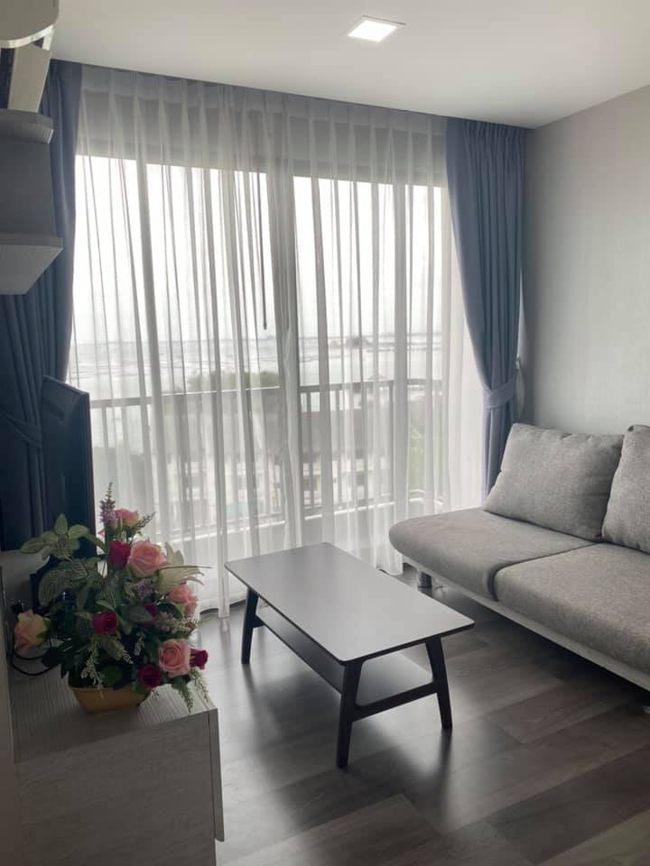 For SaleCondoChonburi, Pattaya, Bangsa : Condo for sale, sea view, new room, Capetown Condo Sriracha
