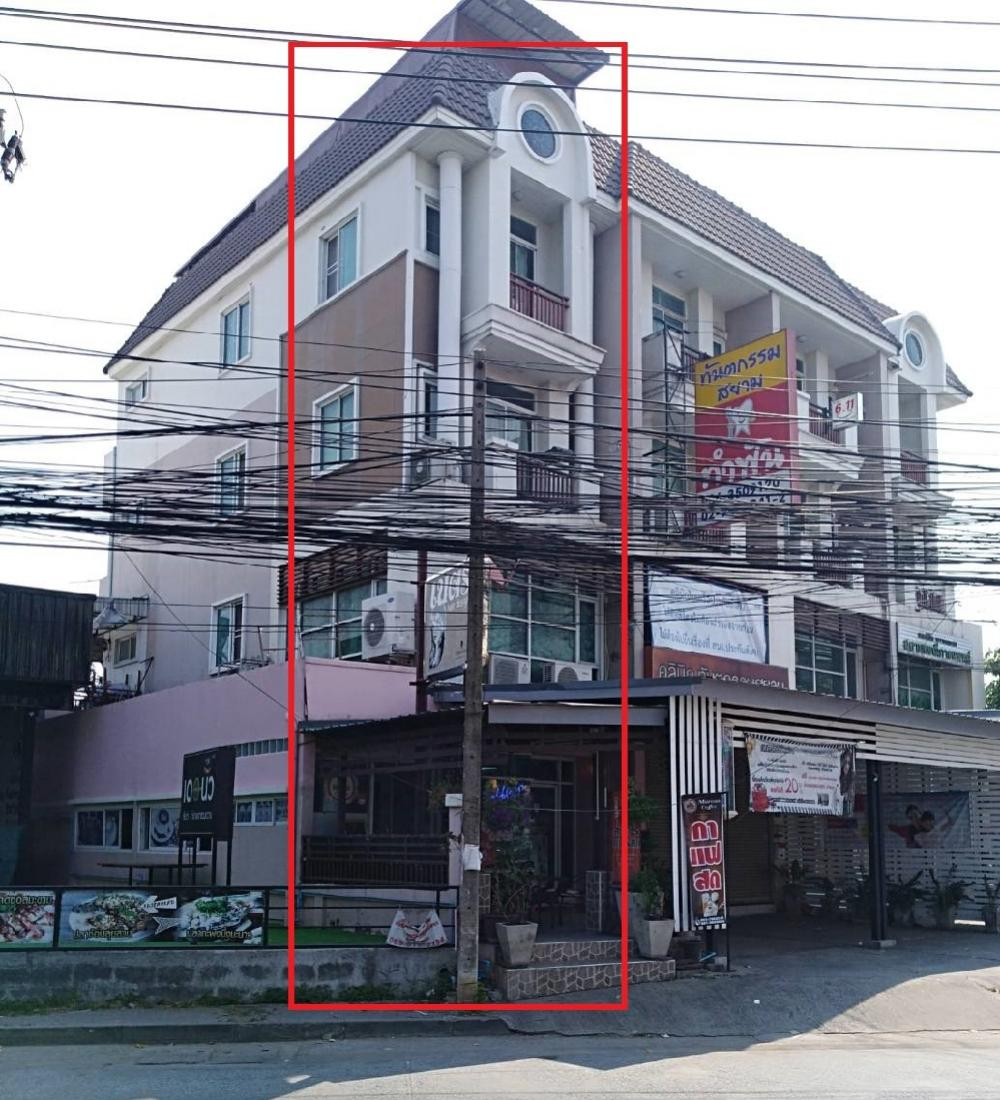 For SaleShophouseNawamin, Ramindra : The most urgent sale, 34 square meters of commercial building with tenants yield6%
