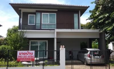 ขายบ้านราษฎร์บูรณะ สุขสวัสดิ์ : ขายด่วน บ้านเดี่ยว 2 ชั้น หมู่บ้าน พฤกษ์ลดา ประชาอุทิศ 90 Pruklada Pracha-uthid 90 ขนาด 52.2 ตร.วา 3 ห้องนอน 2 ห้องน้ำ เดินทางสะดวก ส่วนตัว สงบ ร่มรื่น ติดต่อปันสิริ 082-337-9784