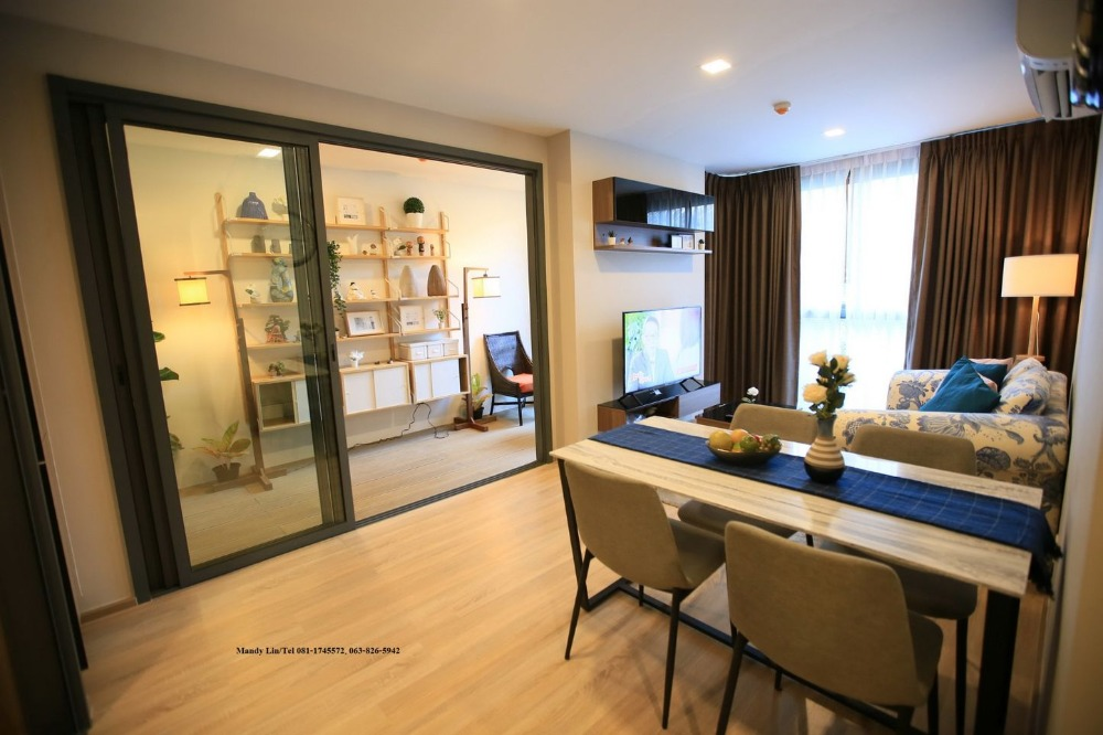 For SaleCondoSukhumvit, Asoke, Thonglor : For Sale-Rent TAKA HAUS 2BR 2RR With Private Japanese Garden, fully furnished and ready to move in, Ekkamai12.