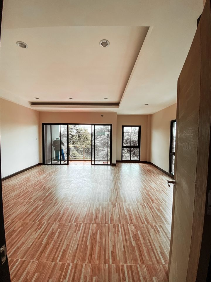 For RentTownhouseNawamin, Ramindra : 3-storey townhome for rent, corner of Ramindra intersection 19, new building