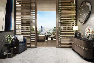 ขายคอนโดสุขุมวิท อโศก ทองหล่อ : RARE UNIT & facing south-west SALE ขาย  The Monument Thong Lo (เดอะ โมนูเมนต์ ทองหล่อ)  วิวหายาก   CBD Ultimate Class condominium - ทองหล่อ Thonglor 19-21