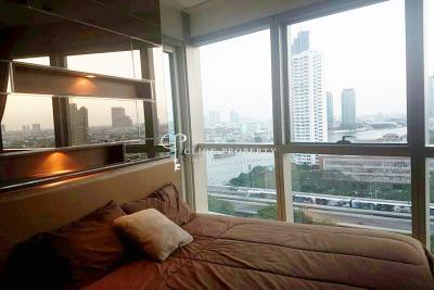 For SaleCondoWongwianyai, Charoennakor :   RIVER view - 2beds 12.5mb   SALE The River condo Sell The River Condo Floor 10-15 ++ floor 2beds 75sqm 77sqm Riverfront Condo in Bangkok for sale - Condo along the Chao Phraya River