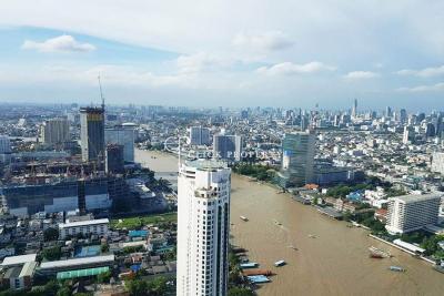 For SaleCondoWongwianyai, Charoennakor : ◤ BEST RIVER VIEW Duplex 4beds 248sqm ◢ SALE The River condo Sell The River Condo sell   Condo along the Chao Phraya River Riverside Bangkok condo - Apartment for sale 650m to ICONSIAM