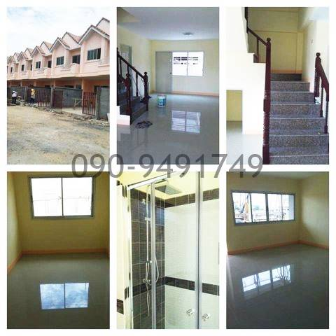 For RentTownhouseNawamin, Ramindra : Rent the village Ratchathanee 9 Sai Mai 43 Front end, back corner, next to main road, location in front of the village