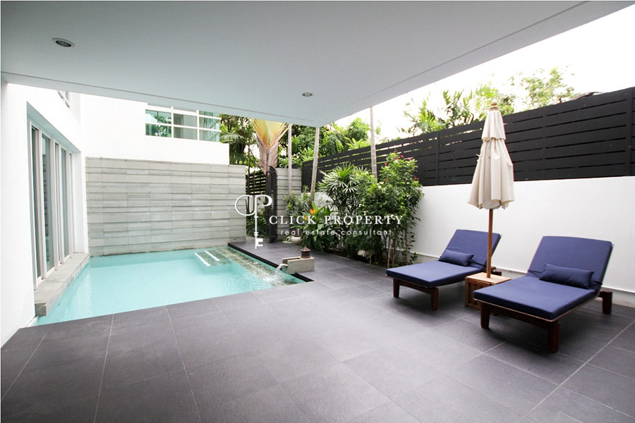 ขายบ้านสาทร นราธิวาส : ✦ 4beds 5baths ✦ 672.60sqm Sell ขาย Silom - Sathorn house with private pool หมู่บ้าน The Trees Sathorn (เดอะ ทรี สาทร) for sale 10mins to Lumpini Park and Silom Complex department store, BTS Sala Daeng Station, MRT Silom