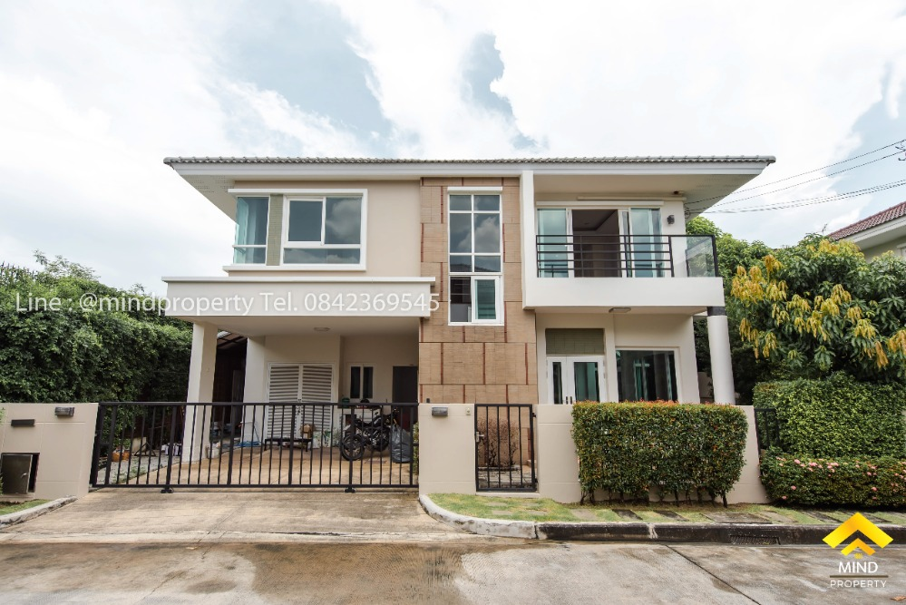 For SaleHouseKaset Nawamin,Ladplakao : House for sale, renovated and ready to move in. Village Casa Grand (Casa Grand) Agriculture - Nawamin Soi Mayalap
