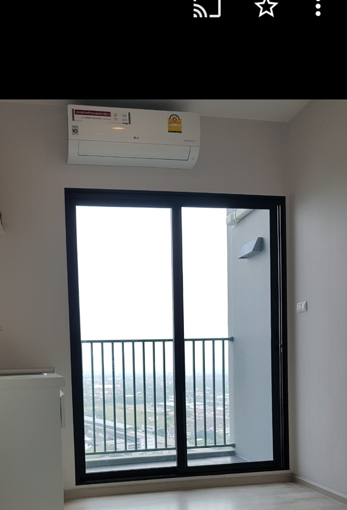For SaleCondoRattanathibet, Sanambinna : Selling cost, empty room, high floor, good view, with free gifts, Plum Condo, Central Station Phase 1