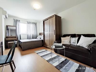 For RentCondoLadkrabang, Suwannaphum Airport : For rent, Lumpini Condo Town Romklao, new room, very beautiful, all new furniture, appliances!