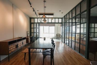 เช่าคอนโดวงเวียนใหญ่ เจริญนคร : ให้เช่า FOR RENT Big loft room 75sqm with river view 22ad floor asking price 35,000 baht.The license is for 1 year plz contact to visit the unit
