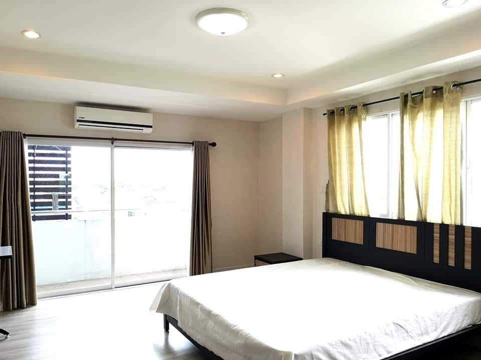 For RentCondoChiang Mai, Chiang Rai : Seven Star Condo (Seven Star Condo) Building C, 6th floor, top, air and view, very quiet (corner room)