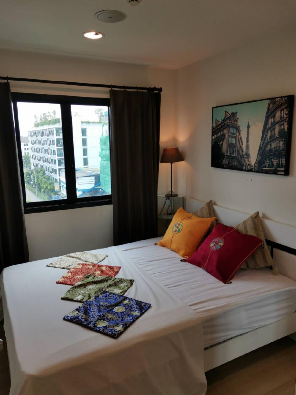 For RentCondoSamrong, Samut Prakan : For rent, B Loft Light Sukhumvit 115 has a washing machine.