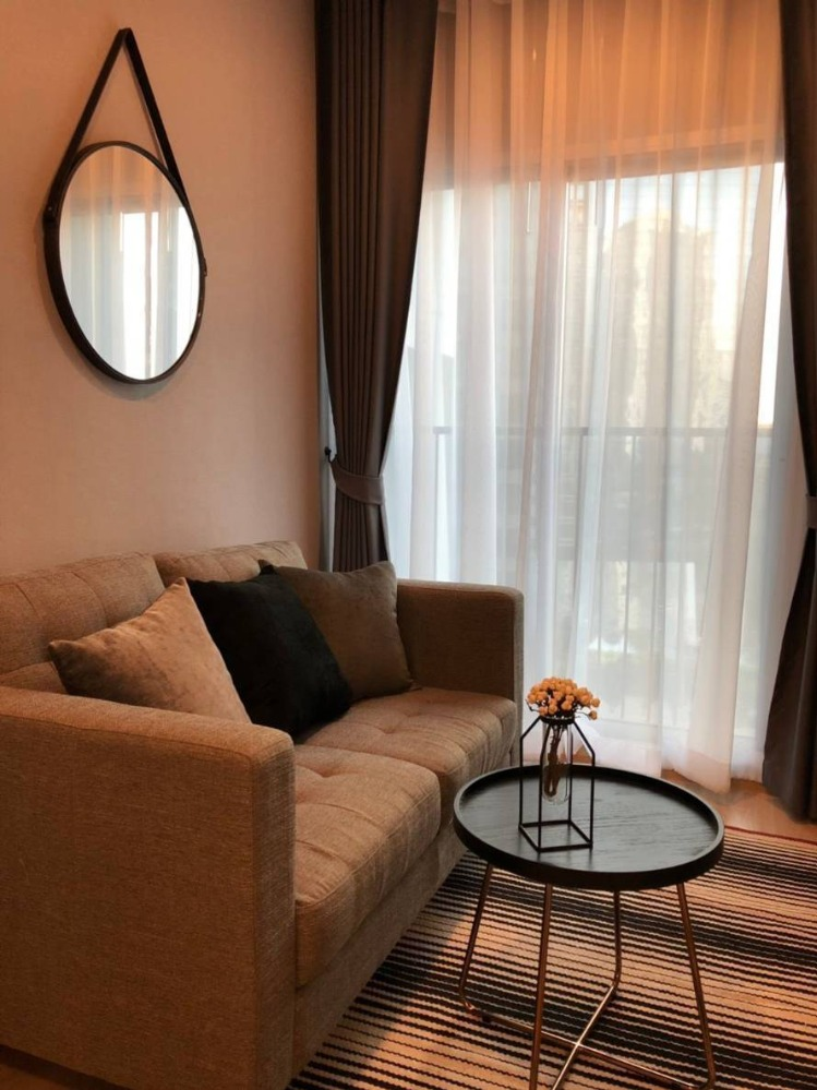 For RentCondoRatchadapisek, Huaikwang, Suttisan : +++ Urgent rent +++ Noble Revolve Ratchada 2 *** 1 bedroom, size 25.89 sq m, fully furnished, ready to move in.