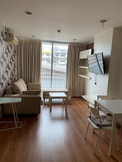 For RentCondoPinklao, Charansanitwong : C965 Condo for rent, Thana Tri, size 45 sqm, near Pata Pinklao Department Store and Rama VIII Bridge, 3rd floor.