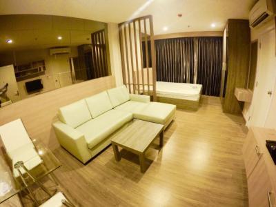 ขายคอนโดบางซื่อ วงศ์สว่าง เตาปูน : ขายคอนโด The Tree Interchange เตาปูน ชั้น 40 ใกล้ MRT เตาปูน ห้องสตูดิโอ 30 ตรม. แต่งครบ 2.75 ล.
