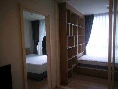 For RentCondoOnnut, Udomsuk : 🔥 Wow, 2 bedrooms, price 13,000 baht, Chamber Onnut Station, new room !!!