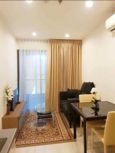 For RentCondoBangna, Lasalle, Bearing : Ideo Mobi Sukhumvit-Eastgate ASK1 59 price 10,000 baht for a 1-year contract, price 9500 baht for a 2-year contract, floor 12A.