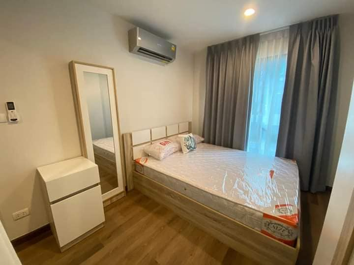 For RentCondoRatchadapisek, Huaikwang, Suttisan : Condo for rent Hi Sutthisarn, furniture + appliances, ready to move in