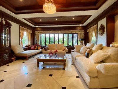 ขายบ้านพัฒนาการ ศรีนครินทร์ : ขายบ้านเดี่ยวหรู ม. ลดาวัลย์ ศรีนครินทร์ 4 ห้องนอน พื้นที่กว่า 1 ไร่ ใกล้ MRT ศรีแบริ่ง