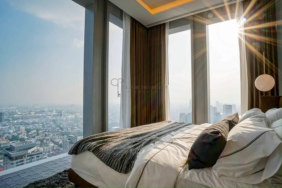 ขายคอนโดสาทร นราธิวาส :    5x floor BEST VIEW     FOR SALE  ขาย  SELL The Ritz-Carlton Residences at MahaNakhon (เดอะ ริซท์ คาร์ลตัน เรสซิเดนเซส แอท มหานคร) 2 - 3 bedrooms sathorn - silom condominium area with both city and river view