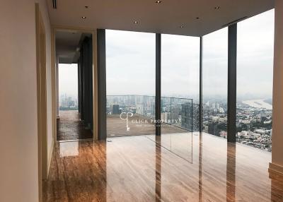 ขายคอนโดสาทร นราธิวาส :   PENTHOUSE   FOR SALE & RENT ขาย ให้เช่า The Ritz-Carlton Residences at MahaNakhon SELL 180degree breathtaking view of city and rivers 4bedrooms plus maid freehold super luxury class residences in bangkok