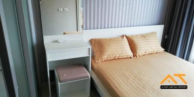 เช่าคอนโดท่าพระ ตลาดพลู : ให้เช่า Aspire Sathorn - Taksin (Timber Zone) - 1นอน ขนาด 26 ตร.ม.