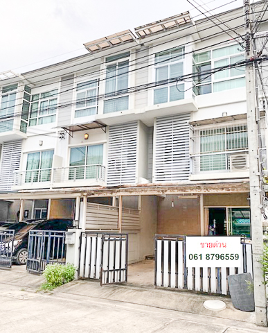 For SaleTownhouseRama9, RCA, Petchaburi : For Sale, Town Home  3 Floor. - The Metro Rama 9-Krungthep Kreetha. Utility Space Size  120  Sq.m.