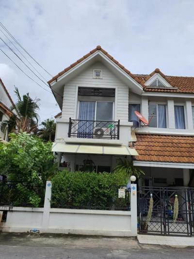 ขายบ้านมีนบุรี-ร่มเกล้า : บ้านแฝดเคหะร่มเกล้า ราคาคุ้มสุดๆ 3 นอน 2 น้ำบรรยากาศดี ทำเลดี