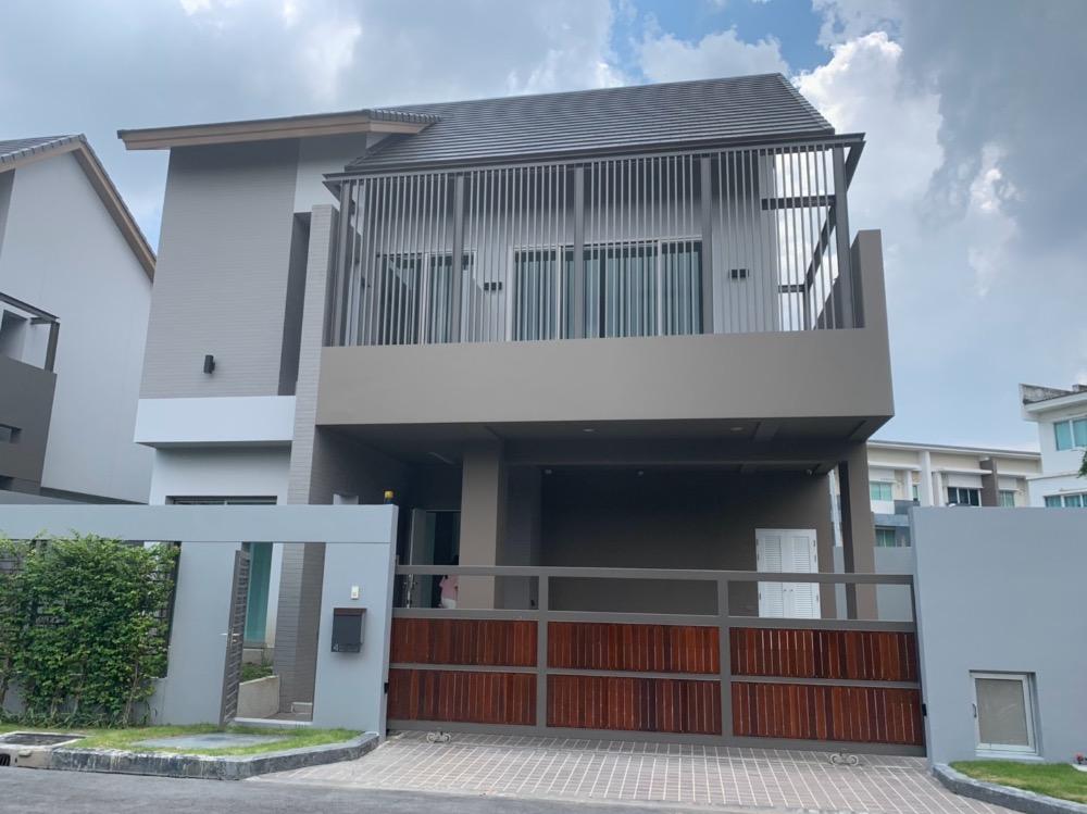 ขายบ้านเลียบทางด่วนรามอินทรา : ขายบ้านเดี่ยว Private Nirvana Residence