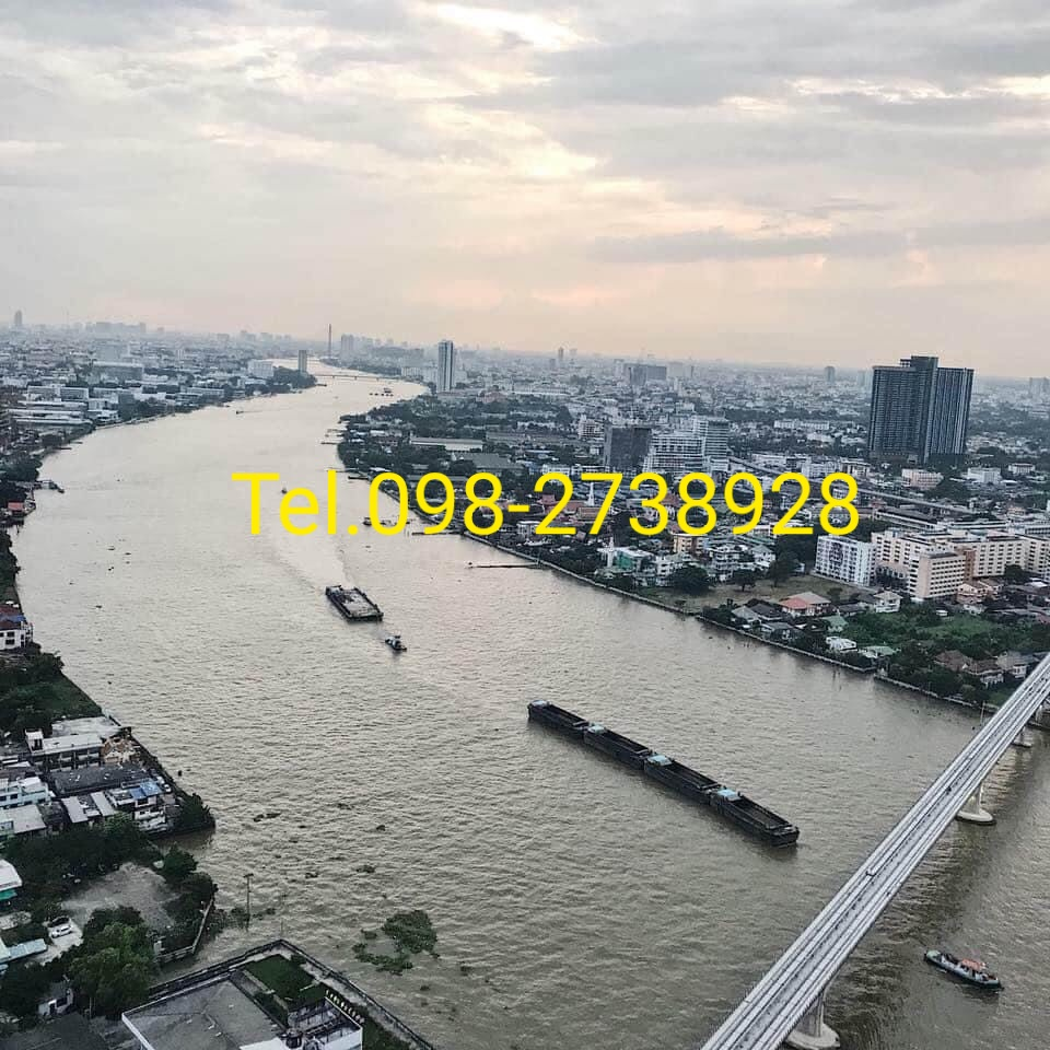 For RentCondoBang Sue, Wong Sawang : For rent 21,000 River view Building A