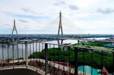 ขายคอนโดพระราม 3 สาธุประดิษฐ์ : For Sale The Pano พระราม 3 วิวสะพาน แม่น้ำเจ้าพระยา 1 ห้องนอน 72 ตรม. ห้องสวยมาก 8.4 ล้านเท่านั้น