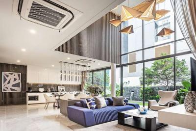 "For SaleHouseRama3 (Riverside),Satupadit : ✦4beds 5baths Single house✦ SALE ""BAAN 365 Rama RAMA 3 house"" for sale 7 minutes to expressway | near Chao Phraya River & 3km to Central Rama 3 mall (single house 365 Rama 3) luxury class"