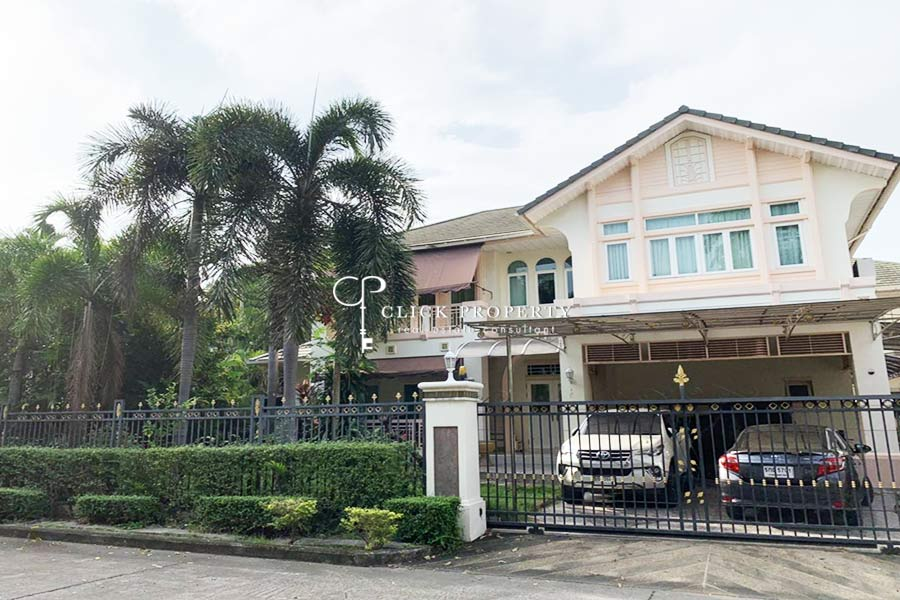 For SaleHouseYothinpattana,CDC : ✦ 3beds 4baths ✦ 320sqm SALE Single House Perfect Masterpiece Ekamai - Ramintra (Village Perfect Masterpiece Ekamai - Ramindra) | near Central Eastville department store, The Crystal Park, KPIS International