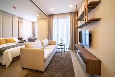 เช่าคอนโดสุขุมวิท อโศก ทองหล่อ : For RENT ให้เช่า 1 ห้องนอน 35ตร.ม. ใกล้ MRT สุขุมวิท เพียง 20 ม.