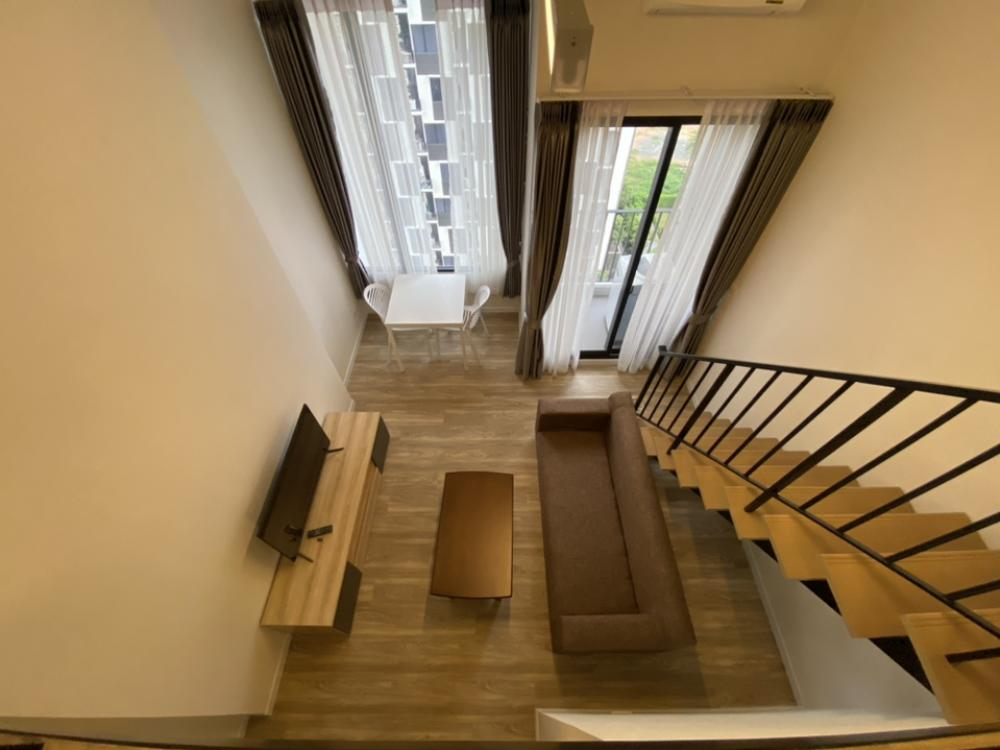 For RentCondoNawamin, Ramindra : For rent Duplex วิวสระ Blossom Condo @ Fashion