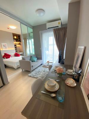 เช่าคอนโดรัชดา ห้วยขวาง : 💫 ให้เช่าคอนโด Chapter One Eco รัชดา-ห้วยขวาง ห้องมุม 30 ตรม. 1 ห้องนอน ตกแต่งสวยมาก ชั้น 8 วิวสวย ราคาต่อรองได้ พร้อมเข้าอยู่ได้เลย