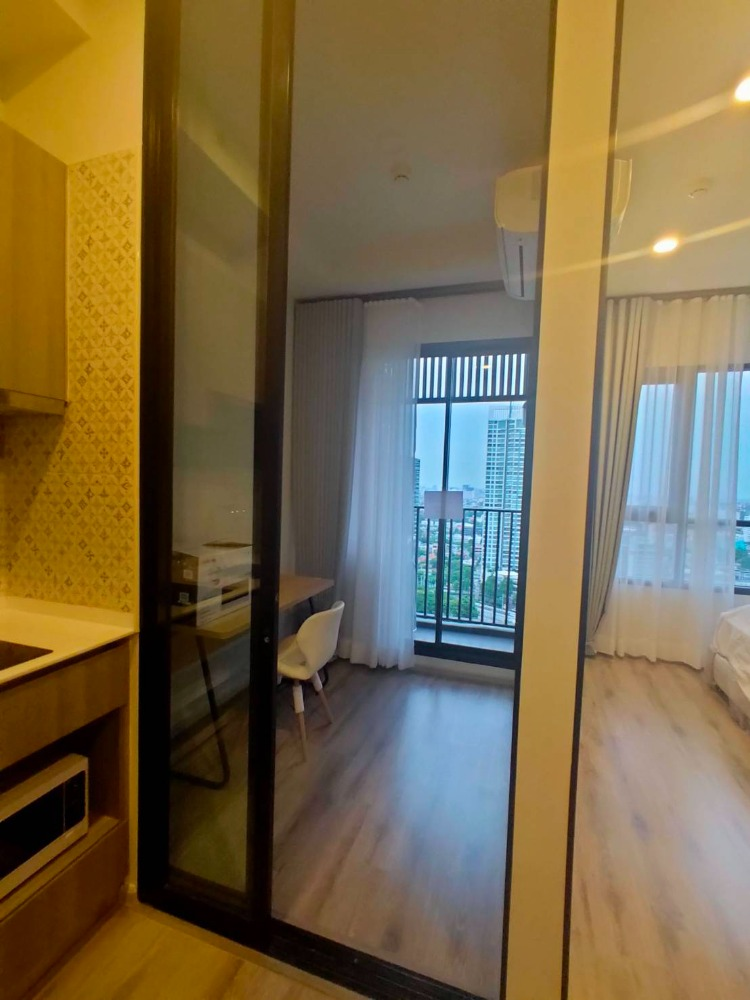 For RentCondoKasetsart, Ratchayothin : For Rent KnightsBridge Prime Ratchayothin 1bed Plus 34 sq.m. 20,000 THB Tel 080-446-4900
