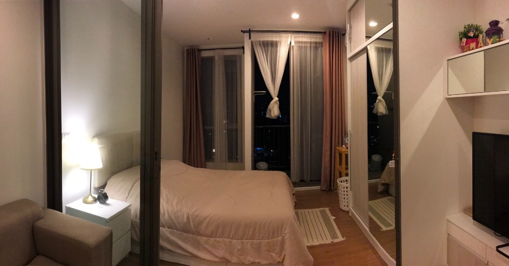 For SaleCondoKasetsart, Ratchayothin : Condo for sale Miti Ladprao - Wang Hin 1bed 26 sq m, 7th floor, beautiful room, ready to south