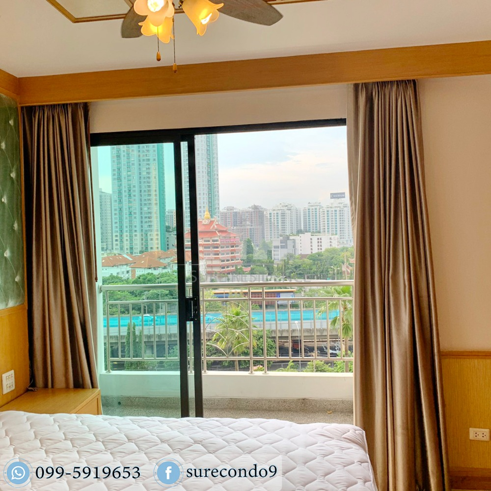 For RentCondoRama3 (Riverside),Satupadit : 0965-A😊 Studio room for rent🚄near BTS Chong Nonsi, just 9 minutes🏢Supalai Premier Narathiwas-Sathorn🔔Area:35.00sq.m.Rent:12,000.-Baht📞:099-5919653✅LineID:@sureresidence