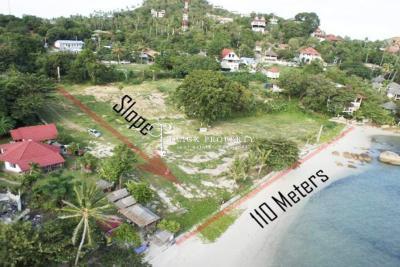 ขายที่ดินสุราษฎร์ธานี : ขายที่ดินเกาะสมุย ✦ ที่ดินติดหาด 7ไร่ 3งาน 390MB ✦ ที่ดินสมุย อ่าวละไม ซอยเดียวกับโรงแรมบันยันทรีสมุย