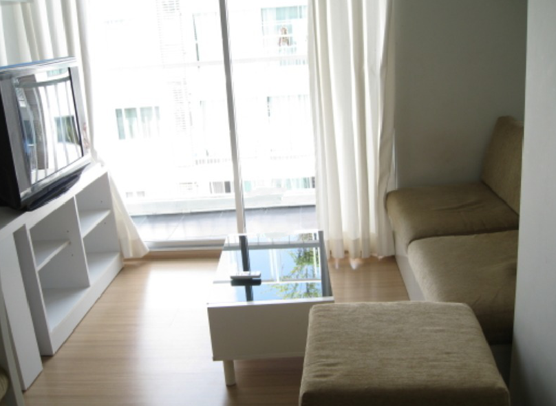 For SaleCondoRama9, RCA, Petchaburi : For sale 1 bedroom A Space Asoke-Ratchada, pool view, good atmosphere, floor 12A (S1468).