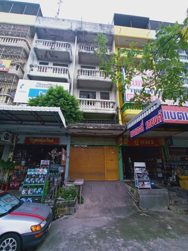 For SaleShophouseRama 2, Bang Khun Thian : CH0080A Commercial Building, Amonchai Village 4