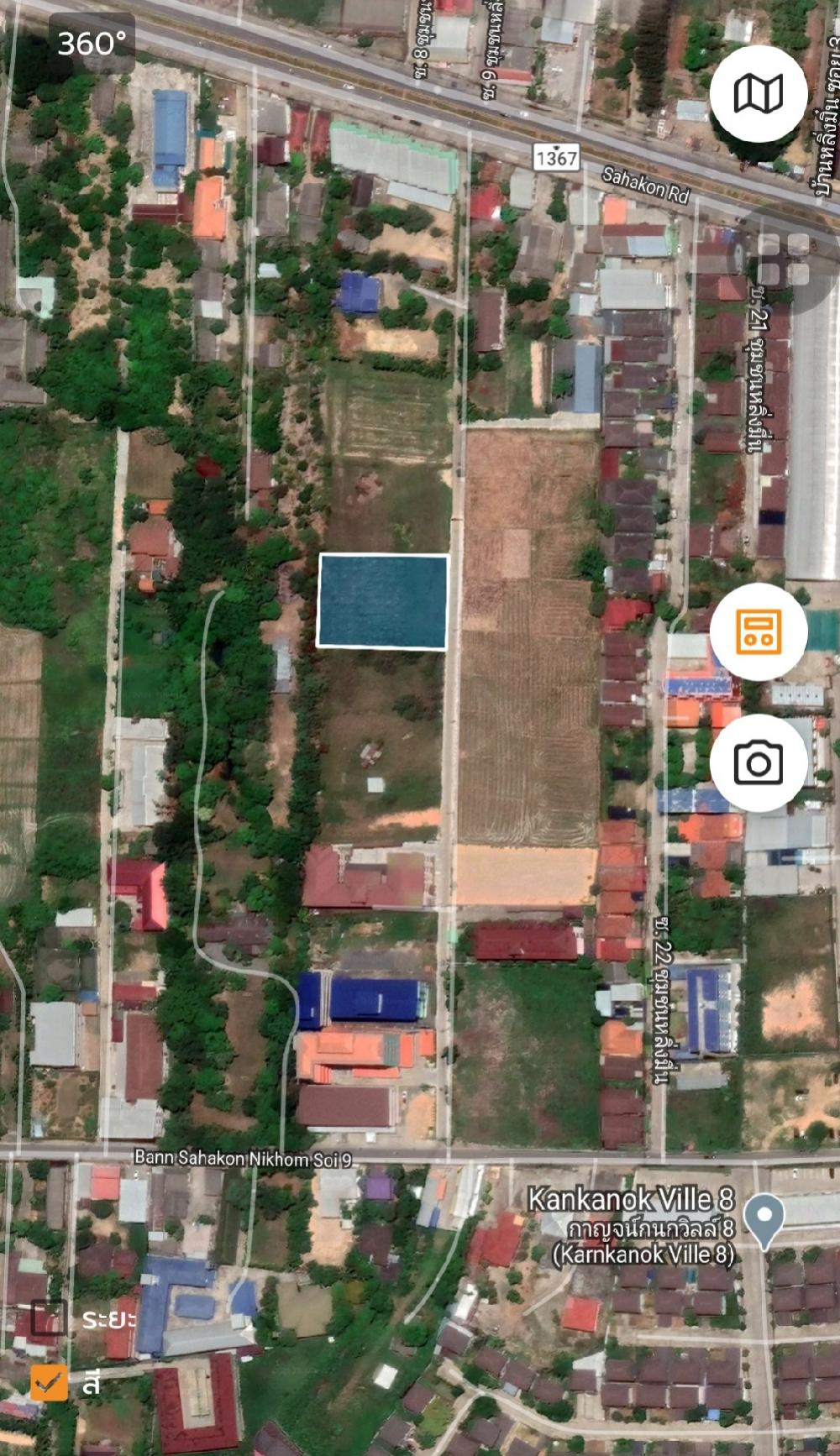 For SaleLandChiang Mai, Chiang Rai : Land for sale in San Sai Mae Jo 1-1-53 rai near Mae Jo University