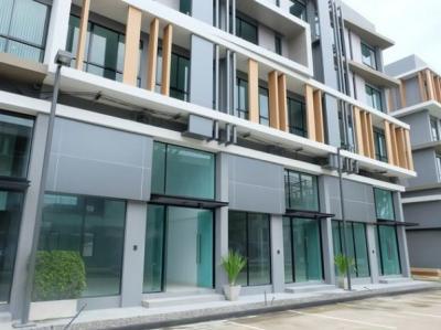 For RentHome OfficeKaset Nawamin,Ladplakao : 4.5 storey home office for rent, Nirvana @ Work Ramindra project, Nirvana @Work Ramintra, good location, on Kaset Nawamin Road Ekkamai Expressway Ramintra