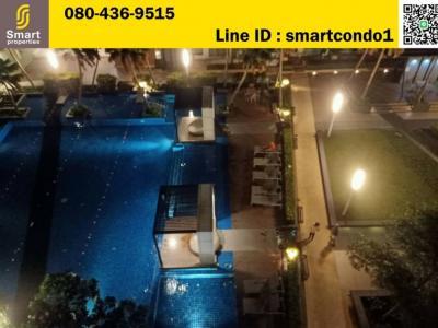 For SaleCondoRama3 (Riverside),Satupadit : Condo Lumpini Park Riverside Rama 3, 14th Floor, Building D, river view room. Size 26.71 sqm. 1 bedroom, very good price, only 2.25 million free transfer