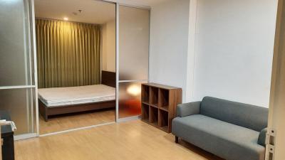 For RentCondoSapankwai,Jatujak : Condo for rent U Delight Chatuchak, close to BTS and MRT, spacious room, 32 sq m, separate kitchen.